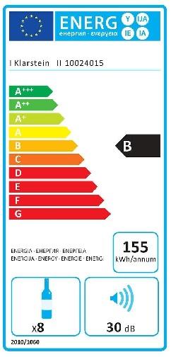Klarstein Reserva Piccola Energieeffizienz
