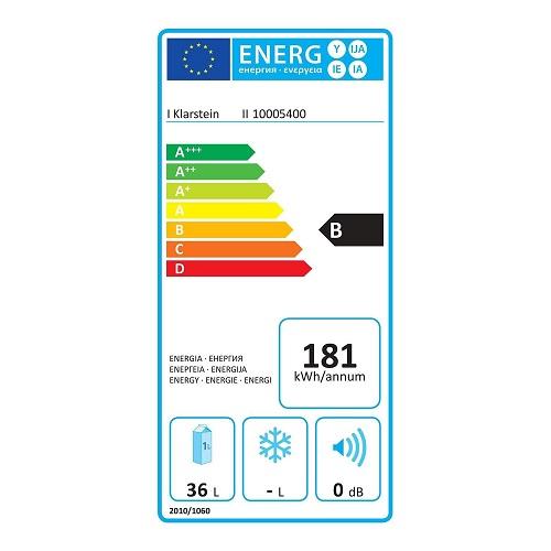Klarstein 10005400 Energieeffizienz