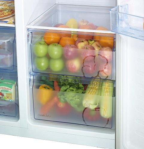 Hisense SBS 518 Gemüse und Obstfach