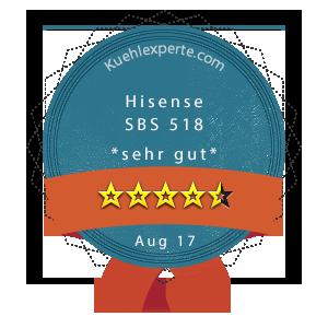 Hisense-SBS-518-Wertung