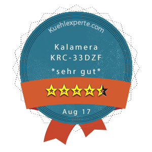 Kalamera-KRC-33DZF-Wertung