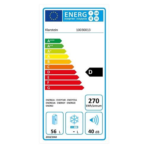 Klarstein Reserva 21-Energieeffizienz