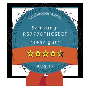 Samsung-RS7778FHCSLEF-Wertung
