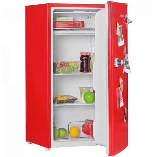 AMSTYLE Design Retro Minikühlschrank