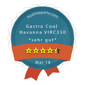 Gastro-Cool-Havanna-VIRC330-Wertung