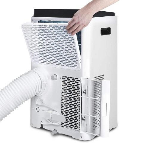 TROTEC PAC 3900 X einfache Reinigung