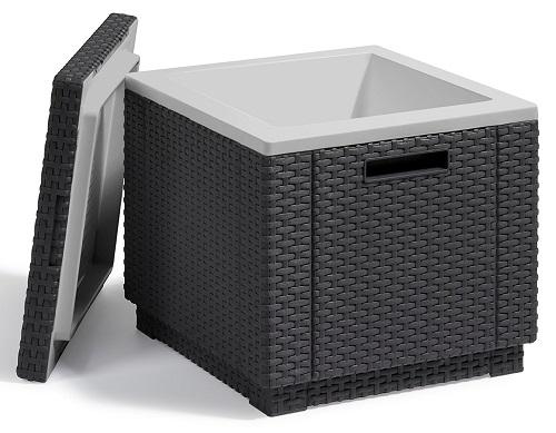 Allibert Kühlbox Ice Cube 40 geöffnet