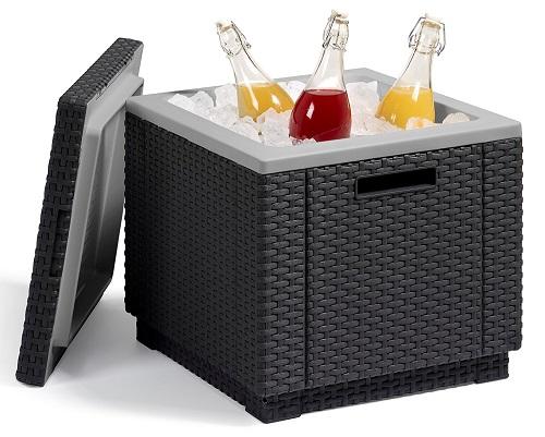 Allibert Kühlbox Ice Cube 40 im Einsatz